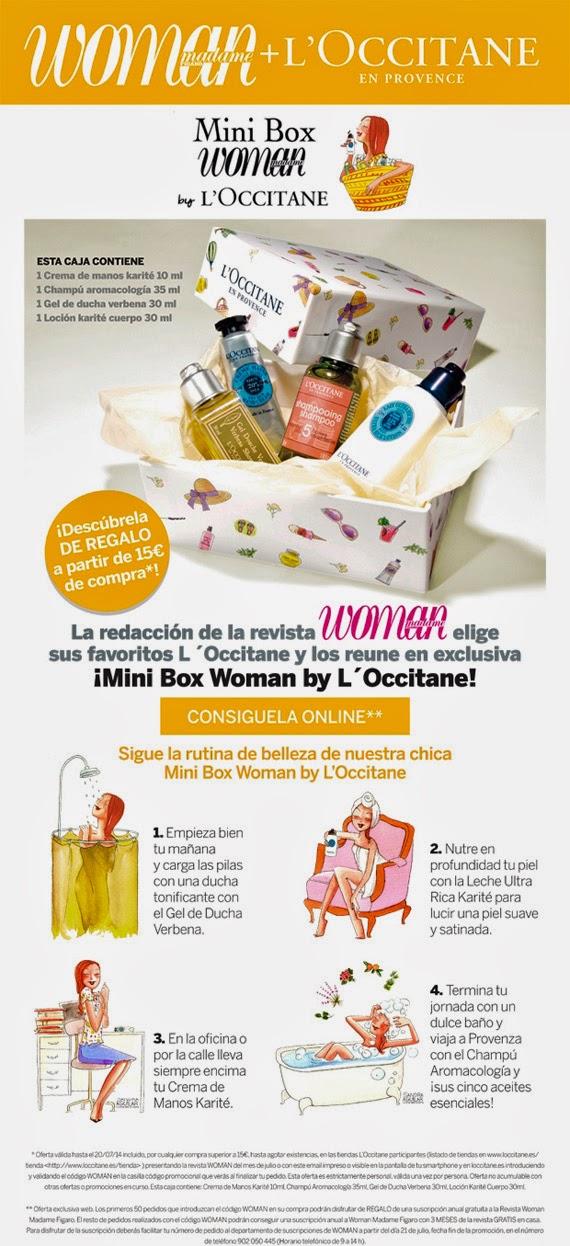 Código Woman en L'Occitane