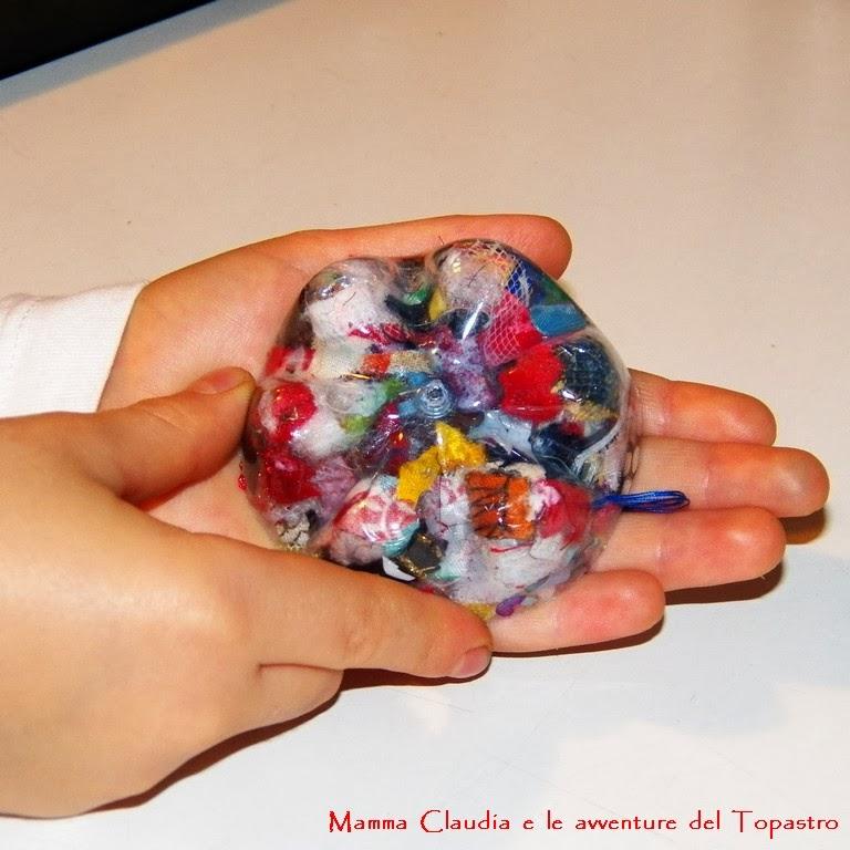 Mamma claudia e le avventure del topastro decorazioni - Decorazioni natalizie con materiale riciclato ...