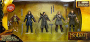 . Hobbit toy collection from The Bridge Direct!