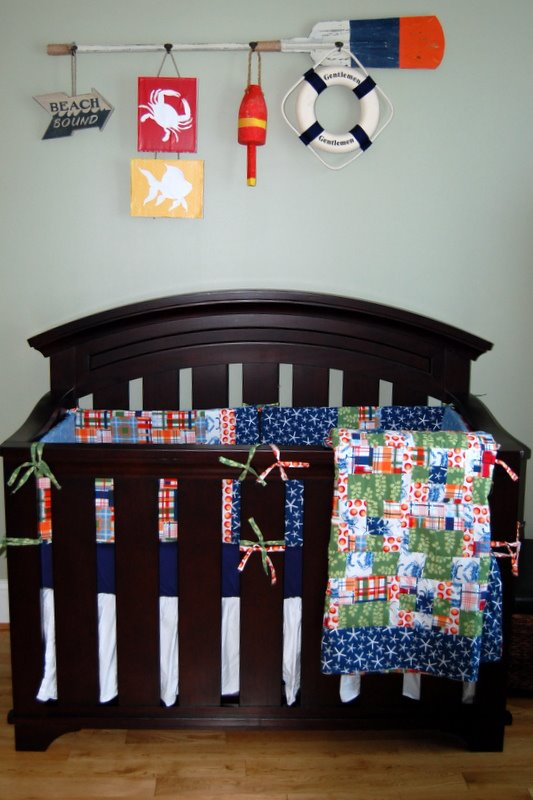 Our Pinteresting Family: Adorable Nautical Nursery