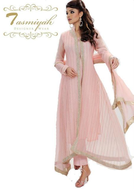 EmbroideredPishwasDresseswwwShe9blogspotcom252822529 - Tasmiyah Designer Collection Long Shirt in Pishwas