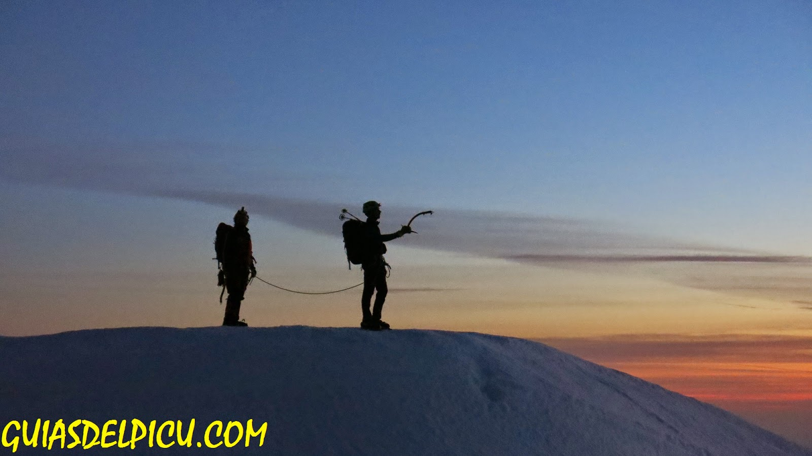 Fernando Calvo guia de alta montaña uiagm