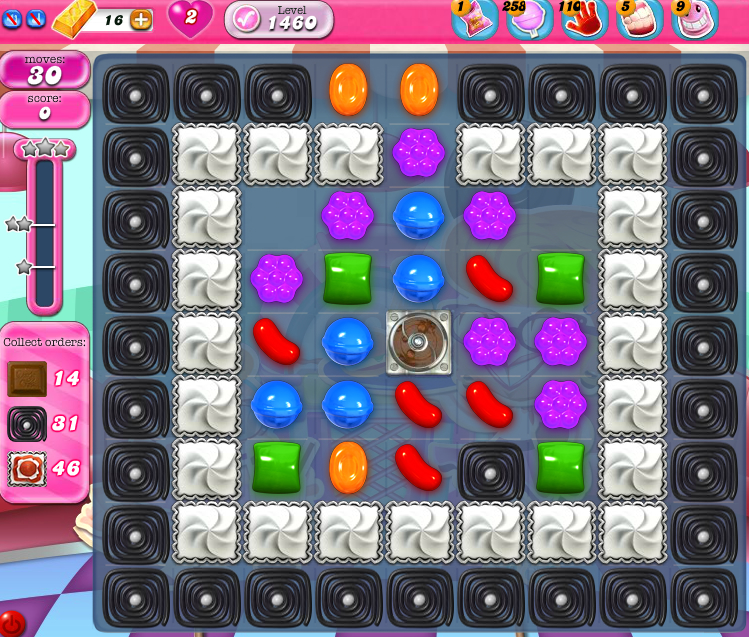 Candy Crush Saga 1460