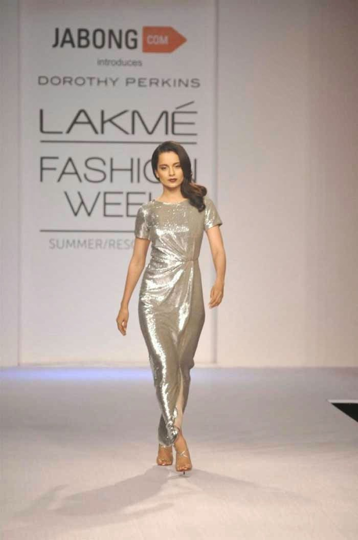 Kangana Ranaut at LFW Summer/Resort 2014