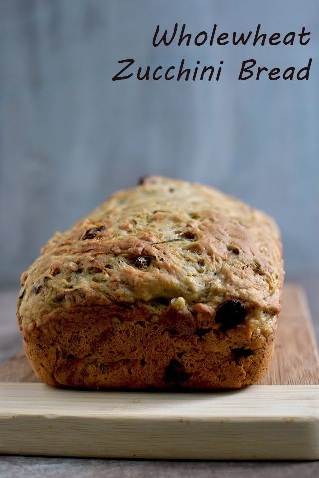Zucchini Wholewheat Bread