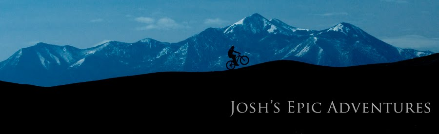 Josh's EPIC Adventure Log