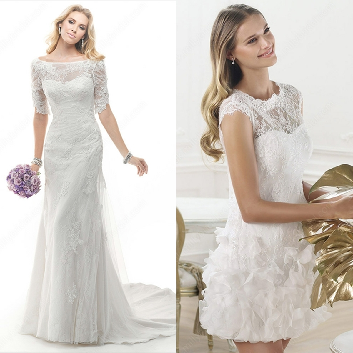 Talking about wedding  I know many couples may desire a pre wed shoots for  themselves  Well  talking about what to wear for the bride  it can be any  gown or  A Stack of Macaroons  7 LACE WEDDING DRESSES FROM MILLY BRIDAL  . Milly Wedding Dresses. Home Design Ideas
