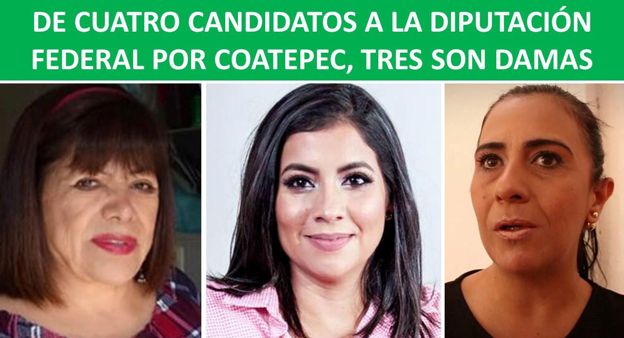 3 mujeres a la federal