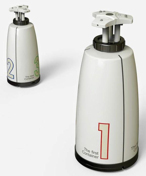 Тройной дозатор 3in1 для мыла
