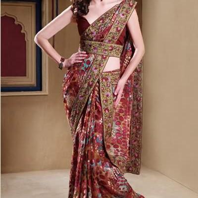 latest saree designs 400x400 Latest Sarees