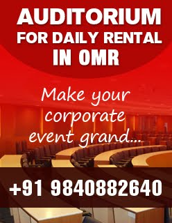 Auditorium for daily rental in OMR, Chennai