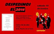 Almuerzo comunista para despedir el 2016 y dar la bienvenida al 2017