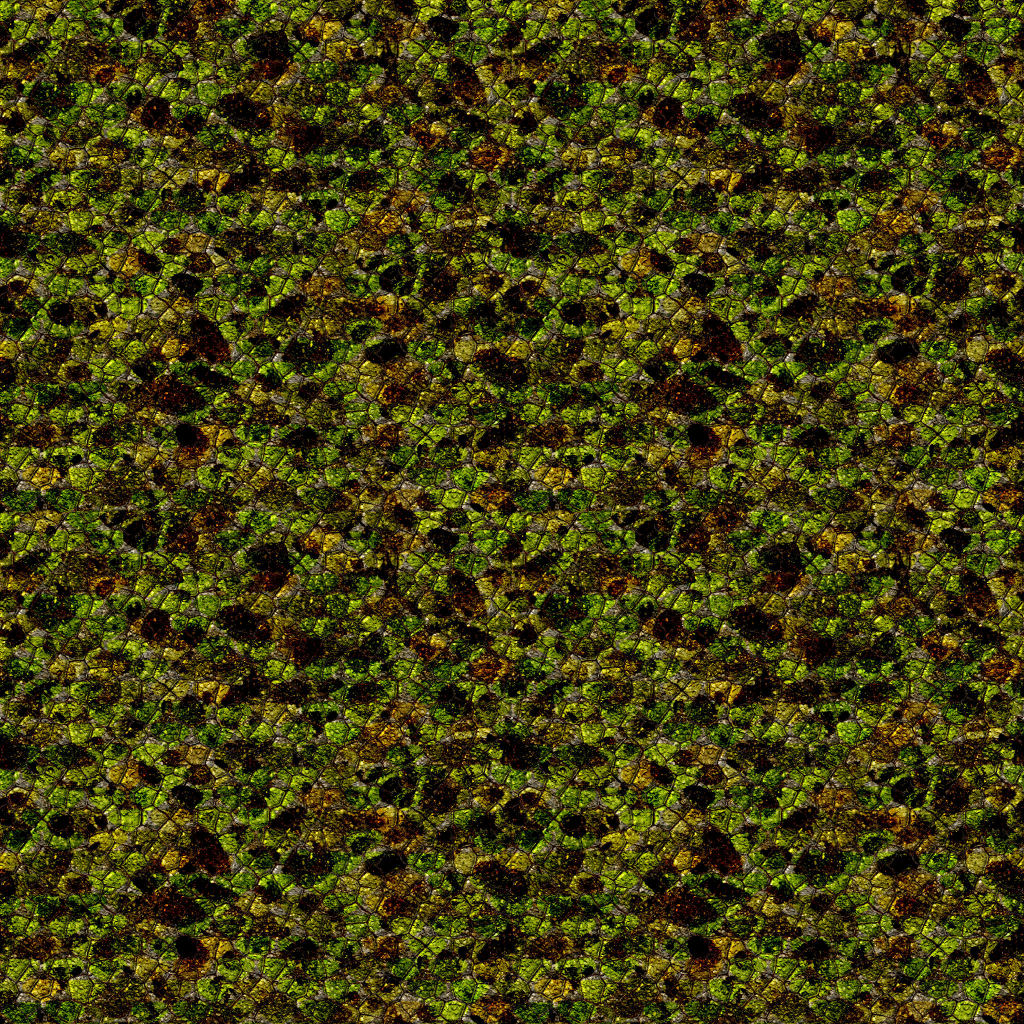 Tiling Texture. Tileable classic water texture. Reptile skin tiling ...