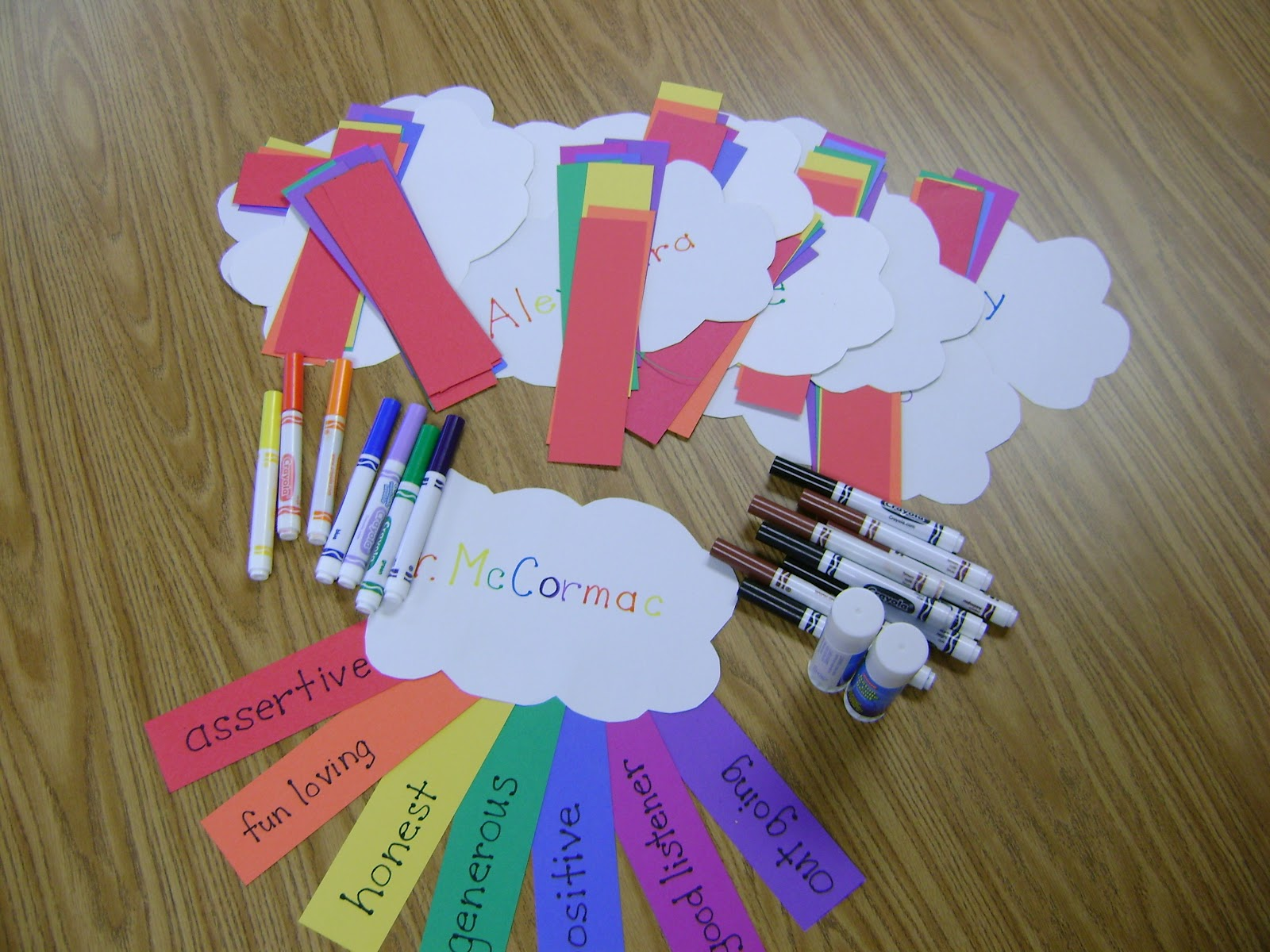 Rainbow Activity These Ideas Are Adapted From The Pictures I Saw On Pinterest First And Second Graders Love Activities They Can Be Used To