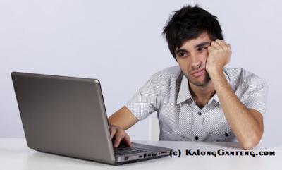 Blogger menjadi malas jika suasana dan tempat tidak sesuai