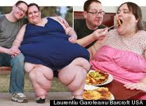 fattest woman in the world eating food with her husband