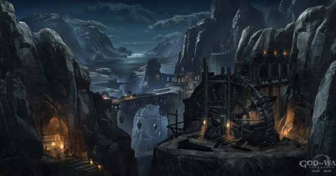 The Art of Cliff Childs: God of War:Ascension concepts