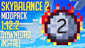 HOW TO INSTALL<br>Skybalance 2 Modpack [<b>1.12.2</b>]<br>▽