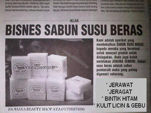 SABUN SUSU BERAS WANGI