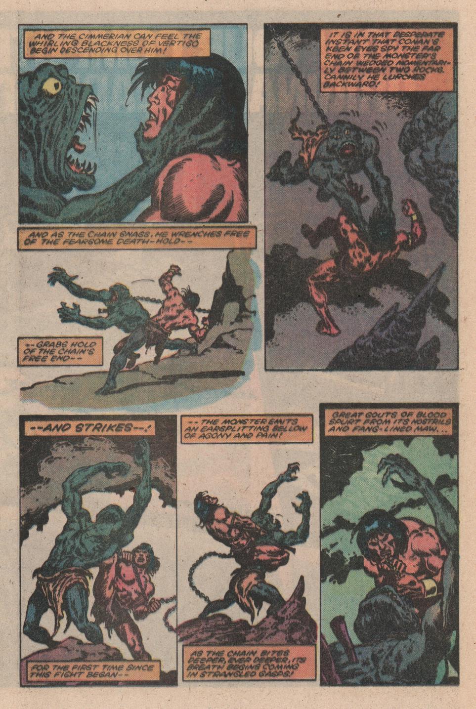 Conan the Barbarian (1970) Issue #156 #168 - English 13