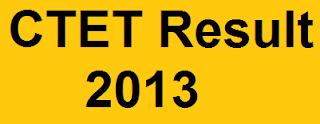 CTET Result 2013
