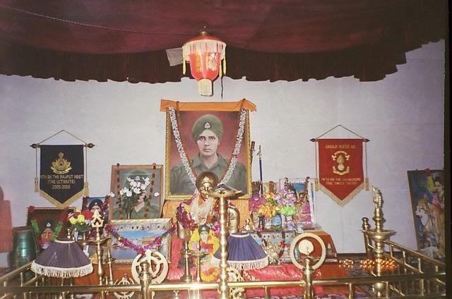 Inside Baba Harbhjan Temple - Gangtok
