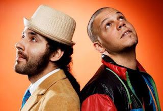Eduardo Cabra e René Perez, dupla porto-riquenha do Calle 13