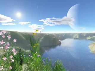 Pemandangan alam hebat gambar wallpaper foto pemandangan alam yang