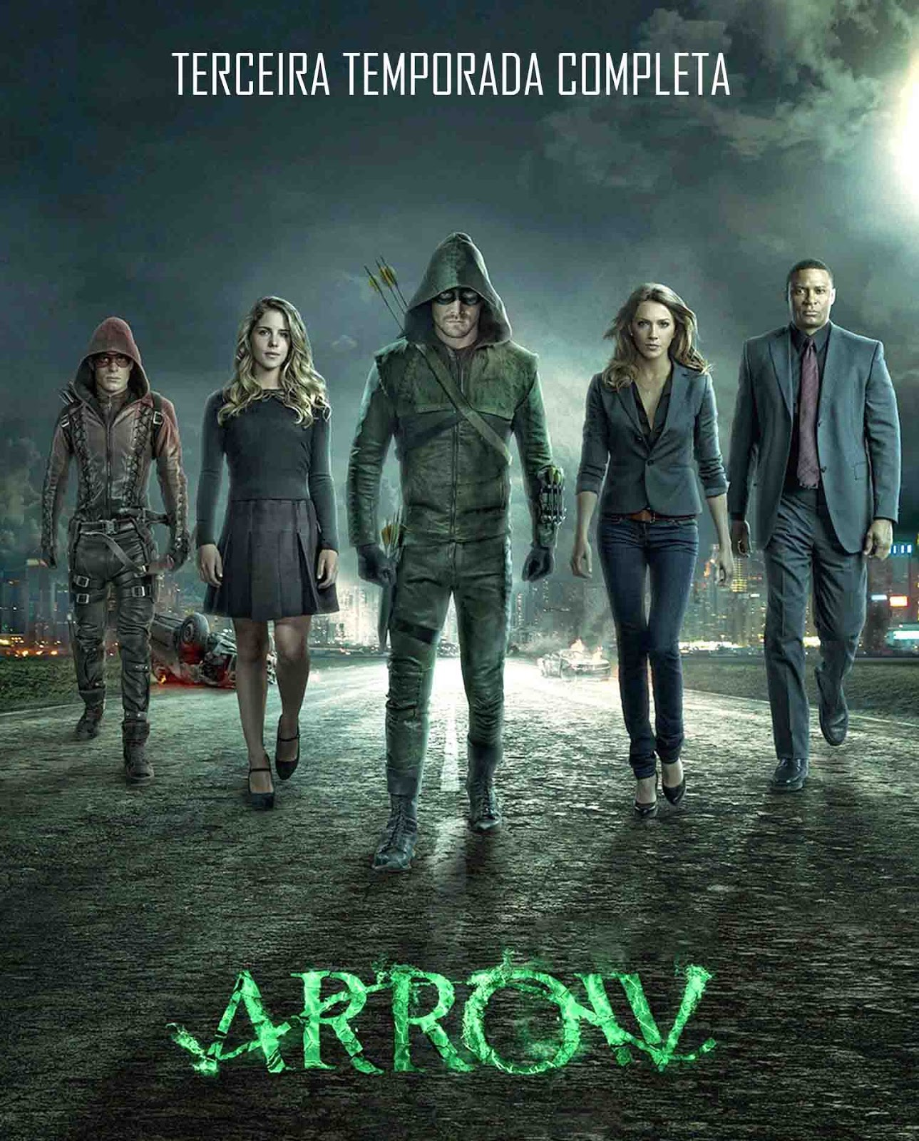 Arrow 3ª Temporada Torrent - BluRay 720p Dual Áudio
