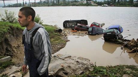 inundaciones en bulgaria 20 de Junio 2014