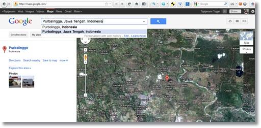 cara pasang peta google maps