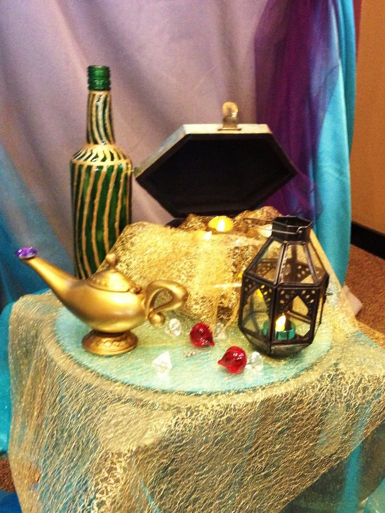 Aladdin themed bridal shower this fairy tale life for Aladdin decoration ideas