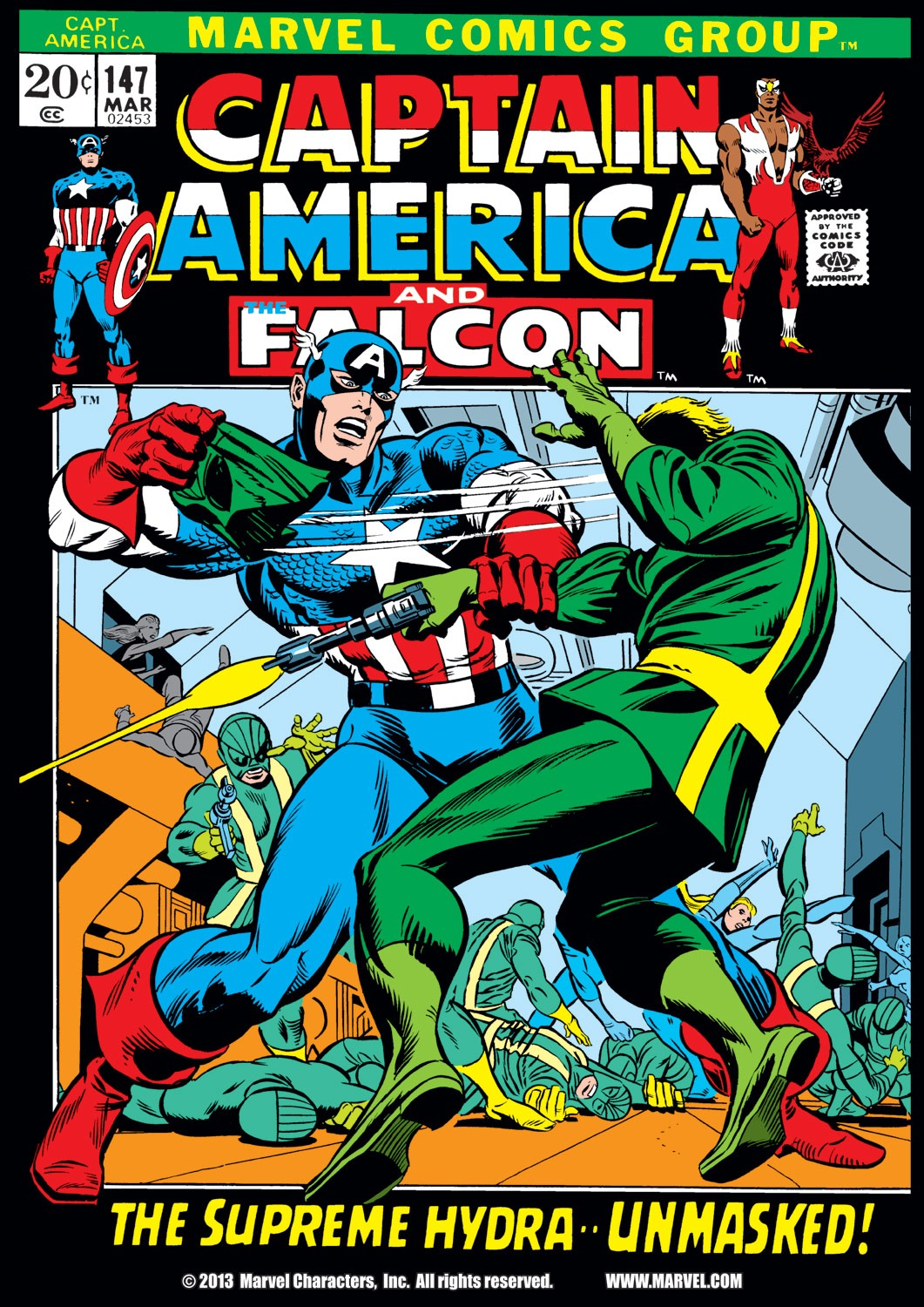 Captain America (1968) Issue #147 #61 - English 1
