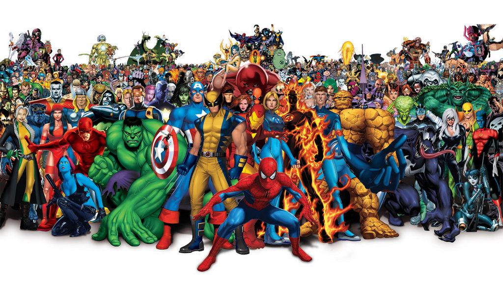 SUPERHEROES vs. VILLAINS! - Divine Lee