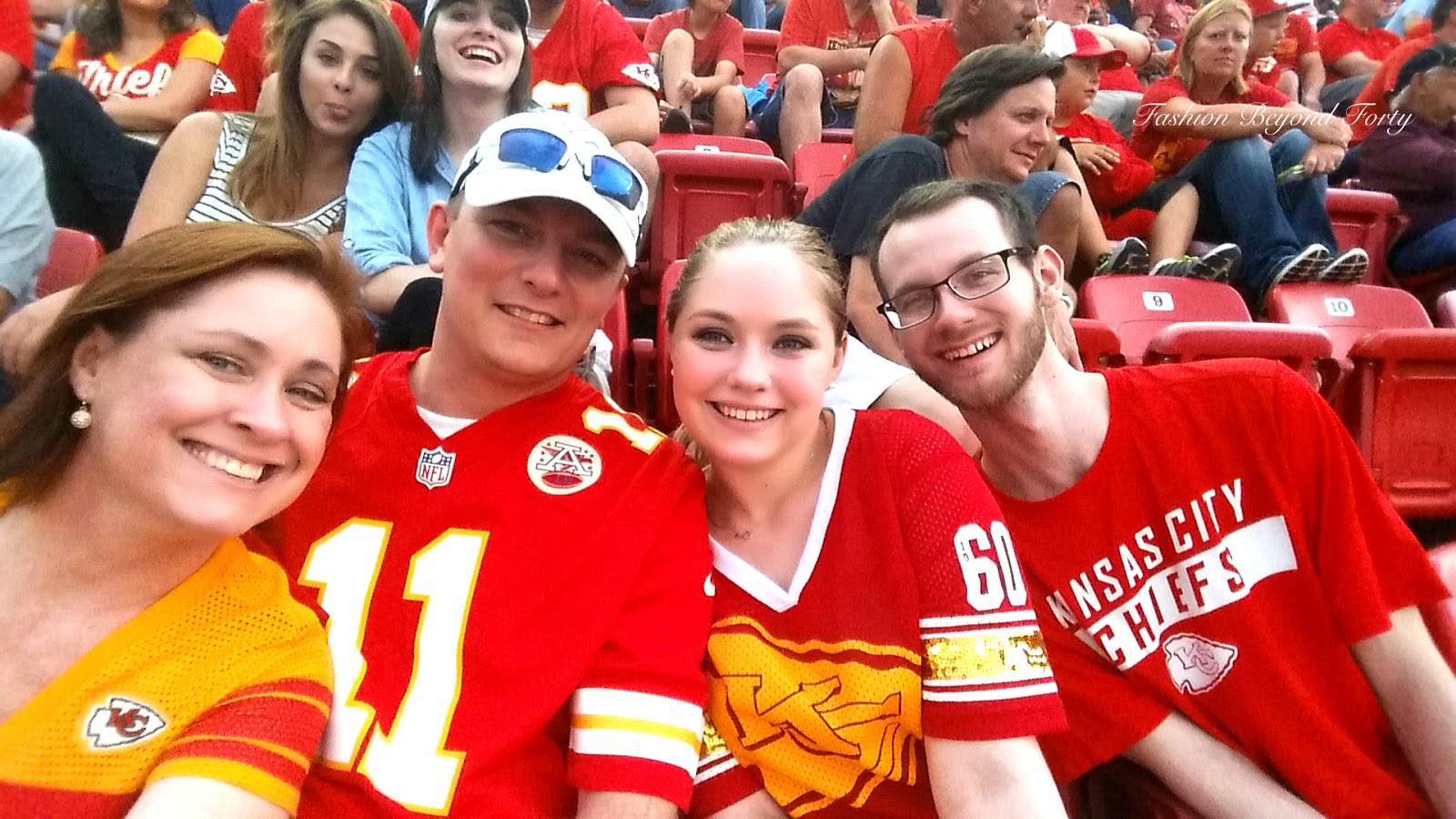 Chiefs Fans at Game