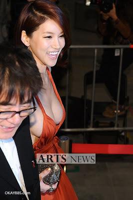 韓國巨乳女星吳仁惠