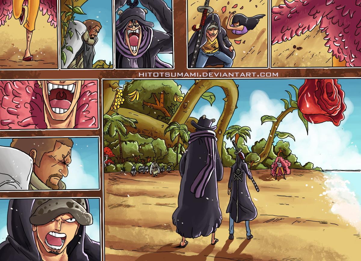 One Piece Chapter 715: Bảng C đại diện 020