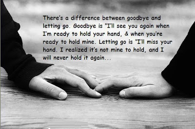 Nice Thereu0027s A Difference Between Goodbye And Letting ...