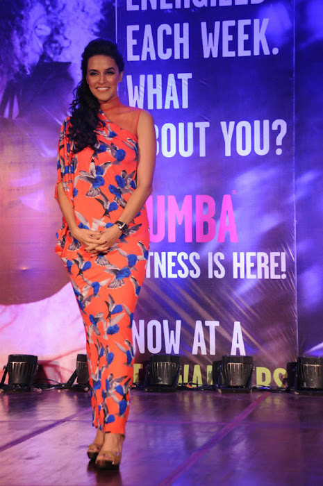 neha dhupia launches zumba fitness sessions actress pics