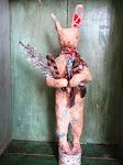 Raggedy Christmas Bunny