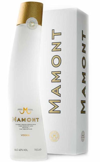 "Водка ""Мамонт"" Vodka Mamont"