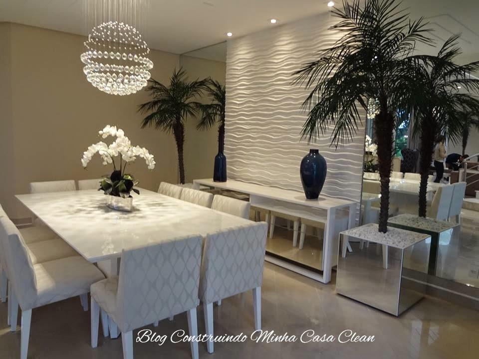 Sala De Jantar Da Rufato ~  Minha Casa Clean Qual Lustre ou Pendente Usar na Sala de Jantar