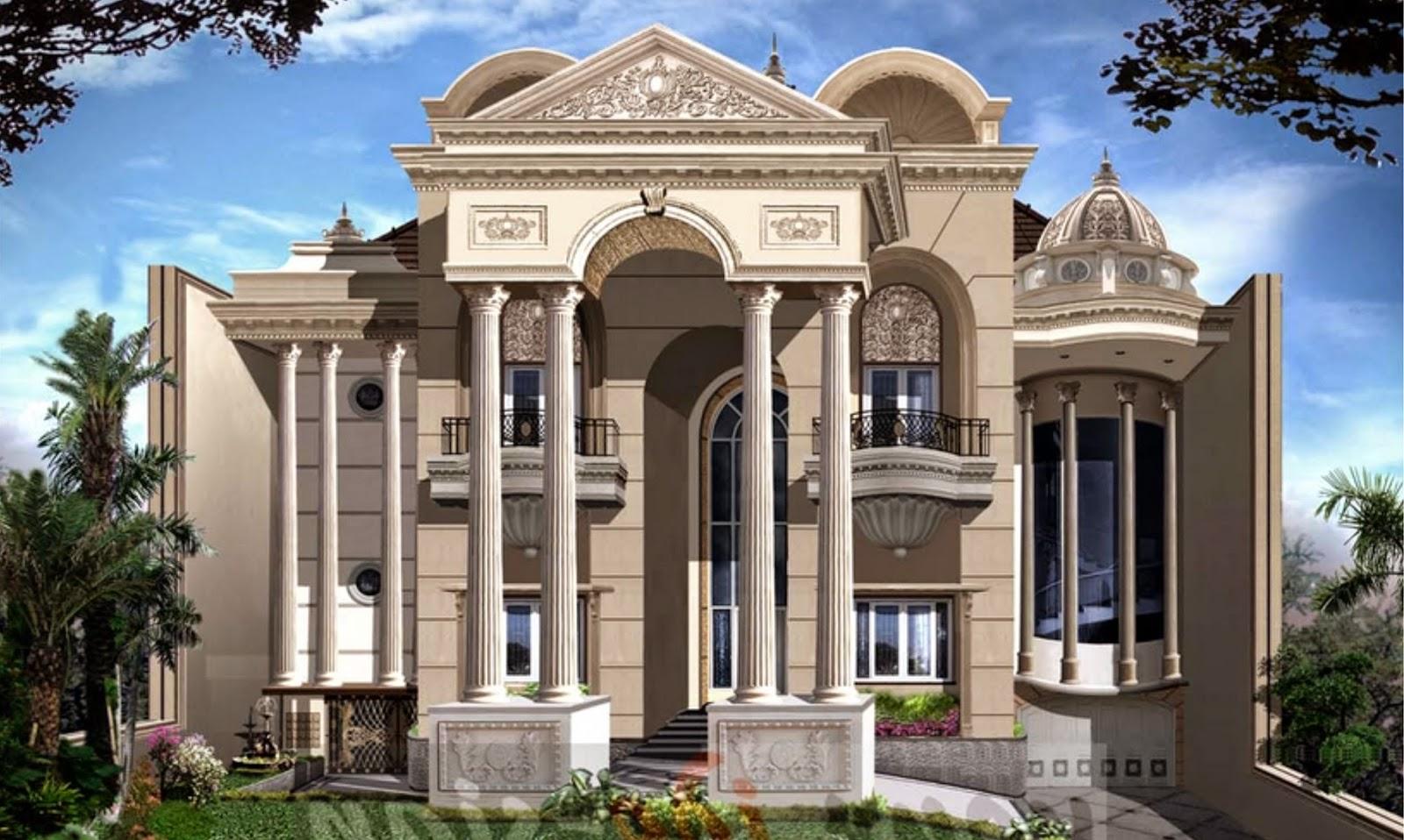 desain rumah klasik bergaya eropa design rumah terbaik 2016