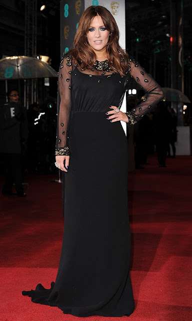 Caroline Flack BAFTAs 2013 outfit