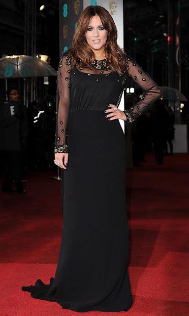 Caroline Flack BAFTAs 2013 outfit