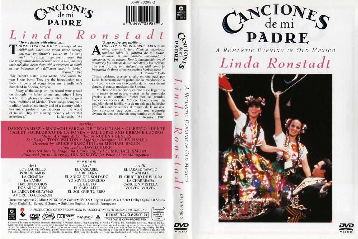 Linda Ronstadt Canciones De Mi Padre