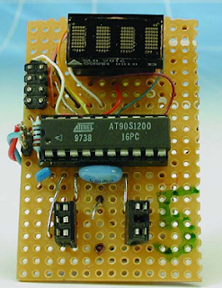 Text Display Circuit diagram
