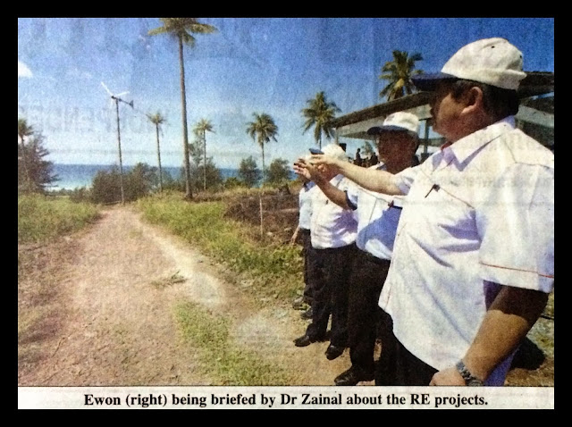 Solar and wind excellent power alternatives for Sabah