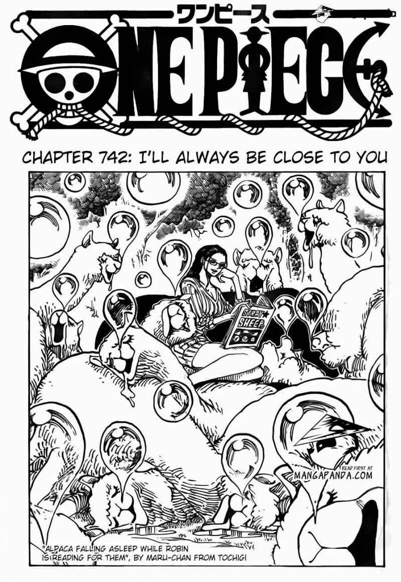 one piece chap 742 trang 002, One Piece chap 742   NarutoSub