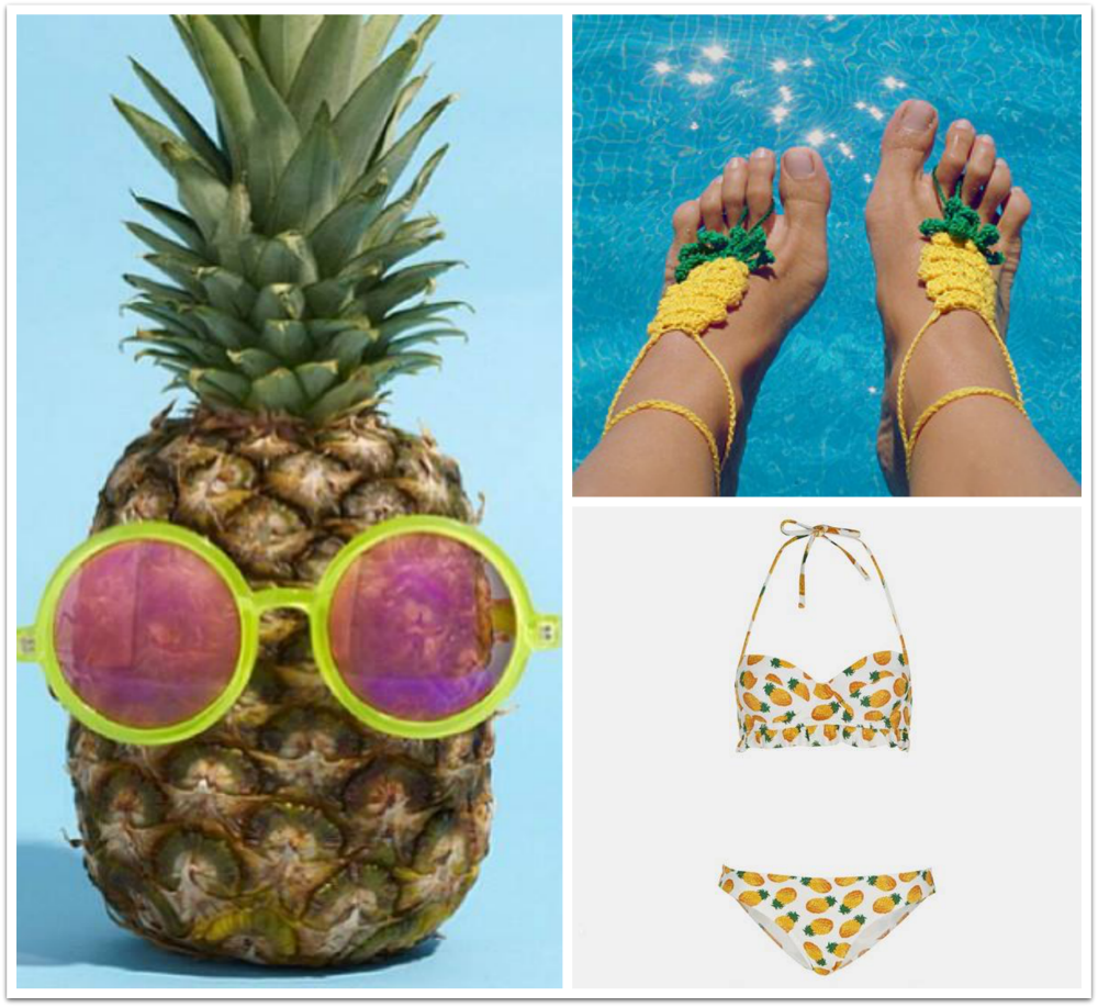 tendencia piña / pineapple trend fashion cool